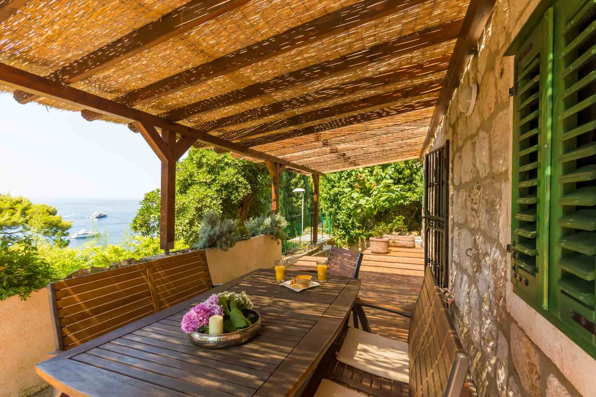 Idilična vila blizu plaže u Dubrovniku