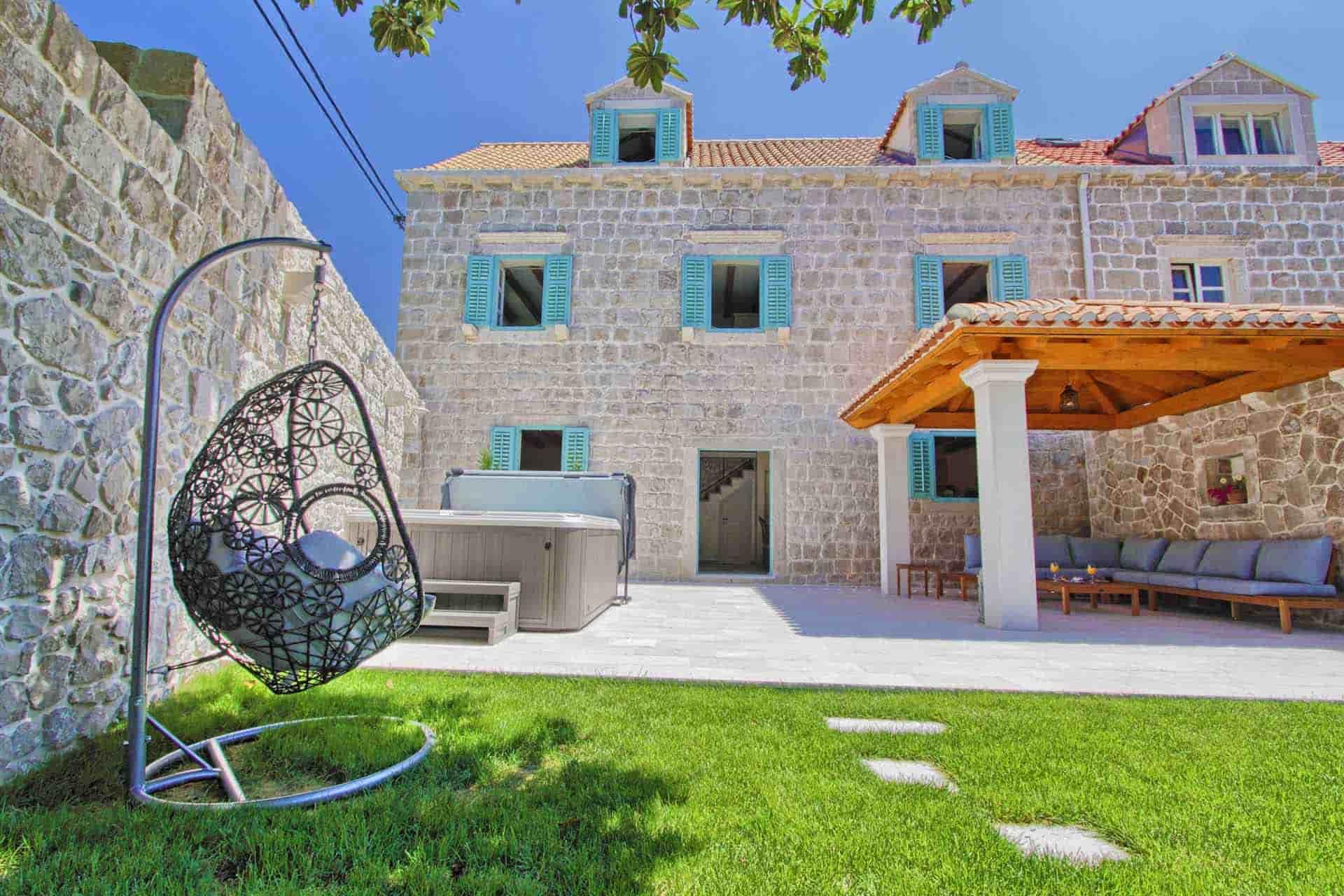Šarmantna vila s jacuzzijem blizu Dubrovnika
