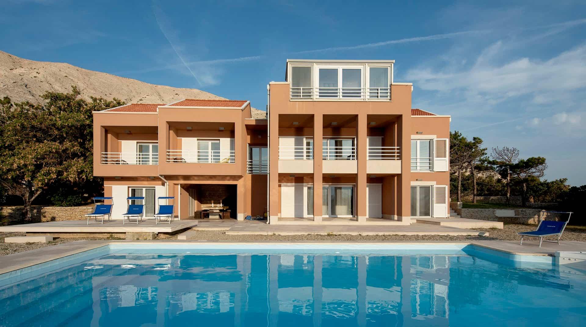 Luxury villa near beach on Island Pag