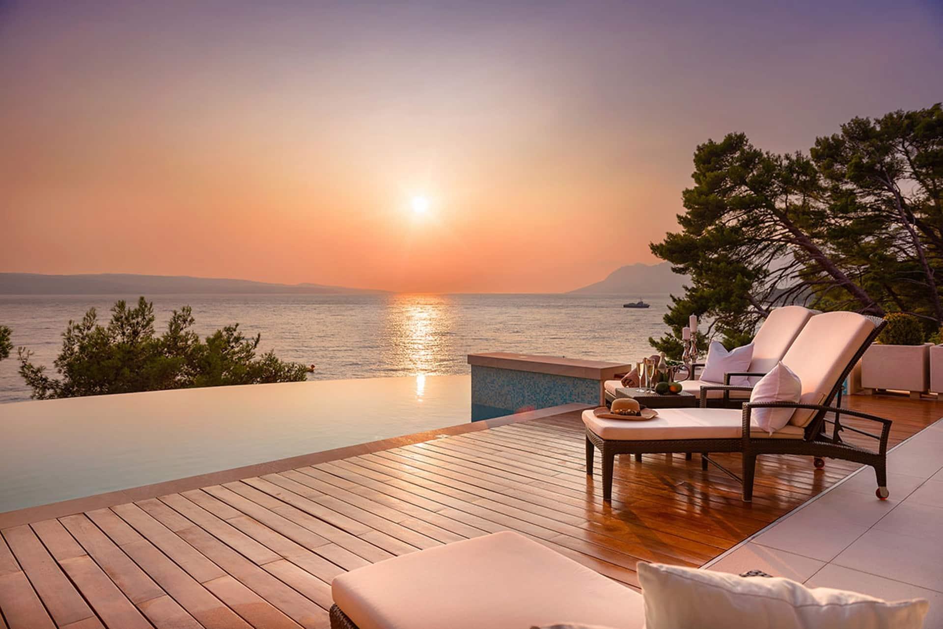 Vila na plaži s očaravajućim pogledom