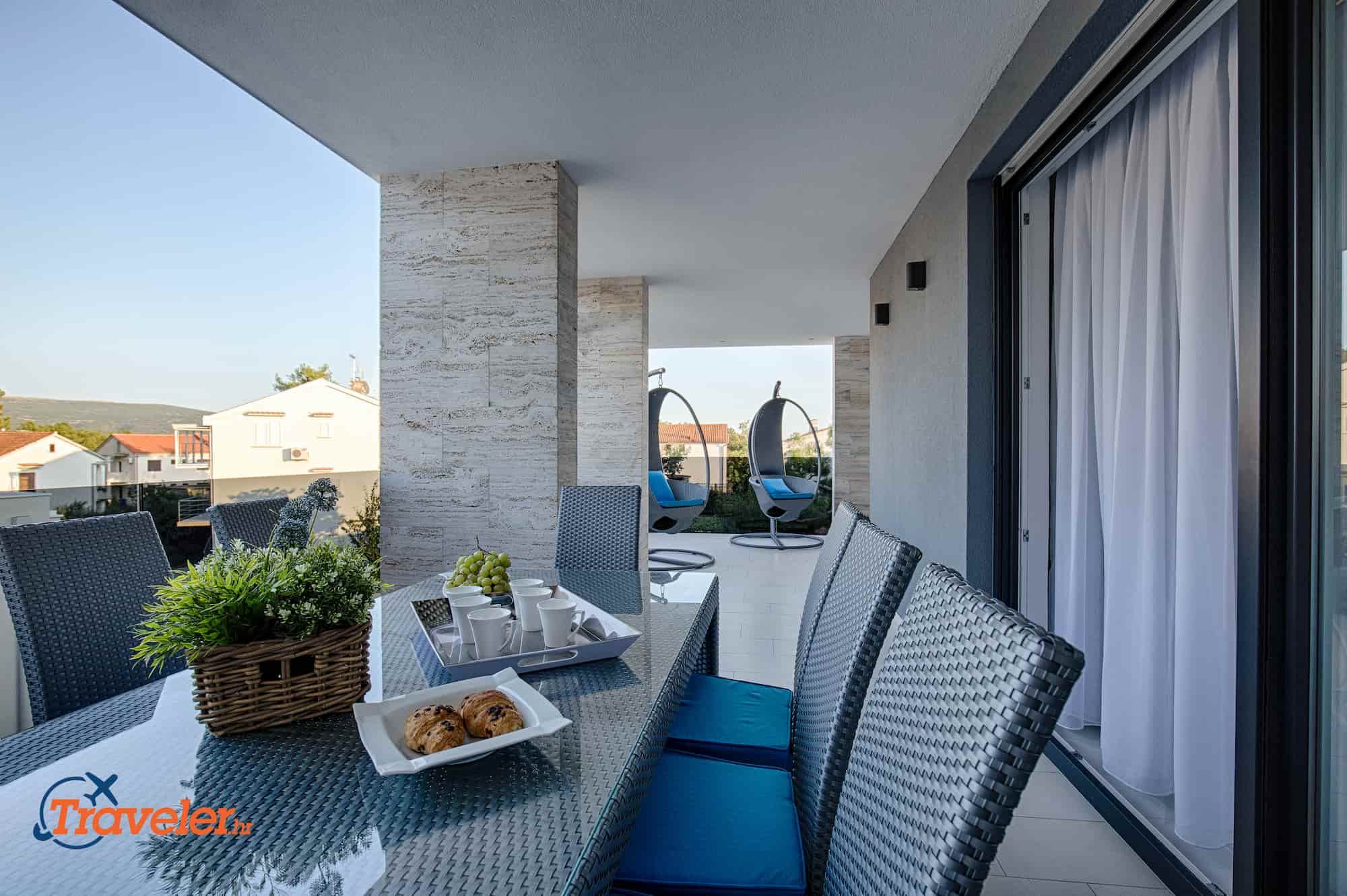 Luxus Penthouse Glamour, 100 Meters vom dem Strand