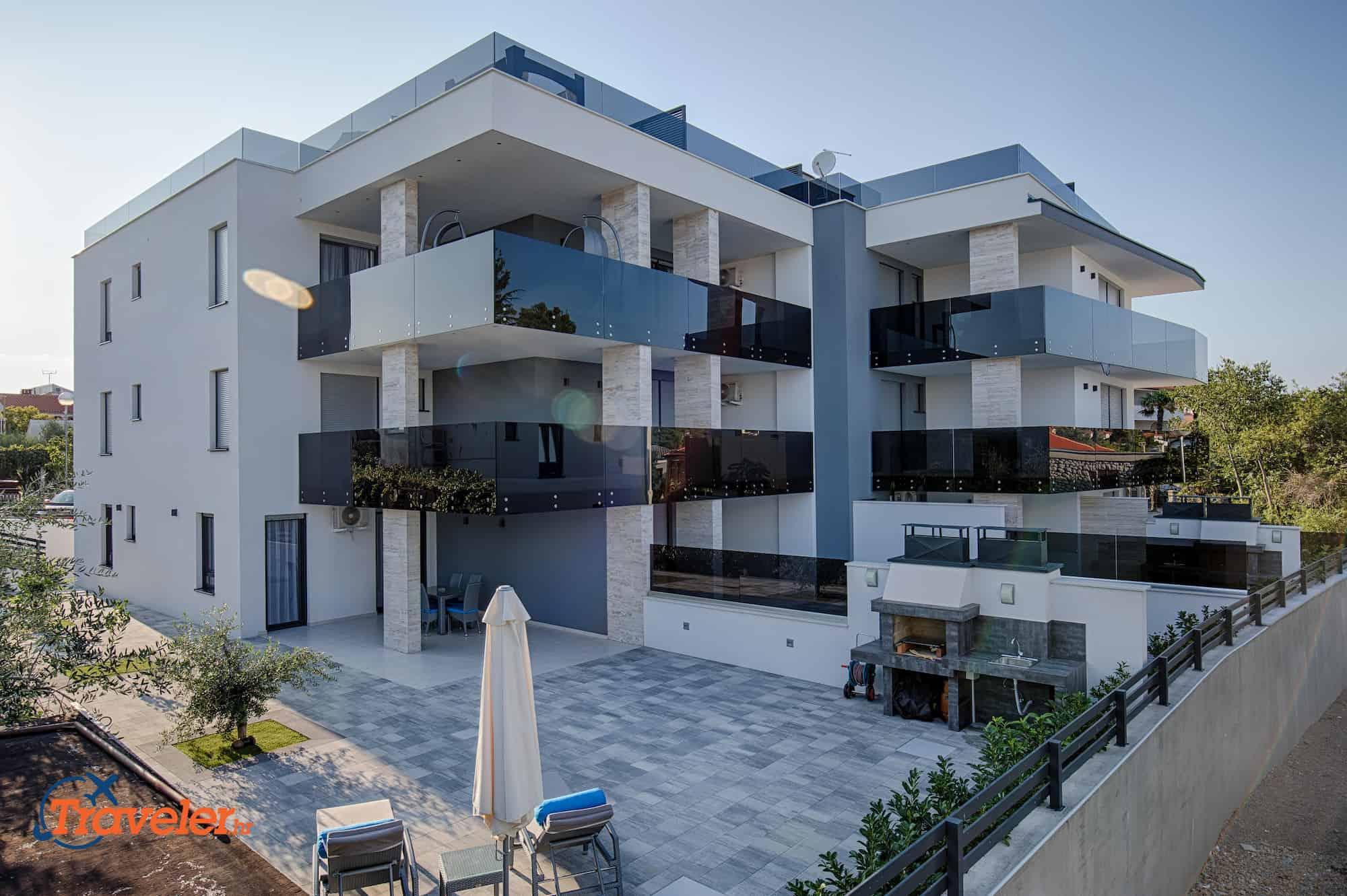 Luxus Wohnung Pine, 100 Meters vom dem Strand