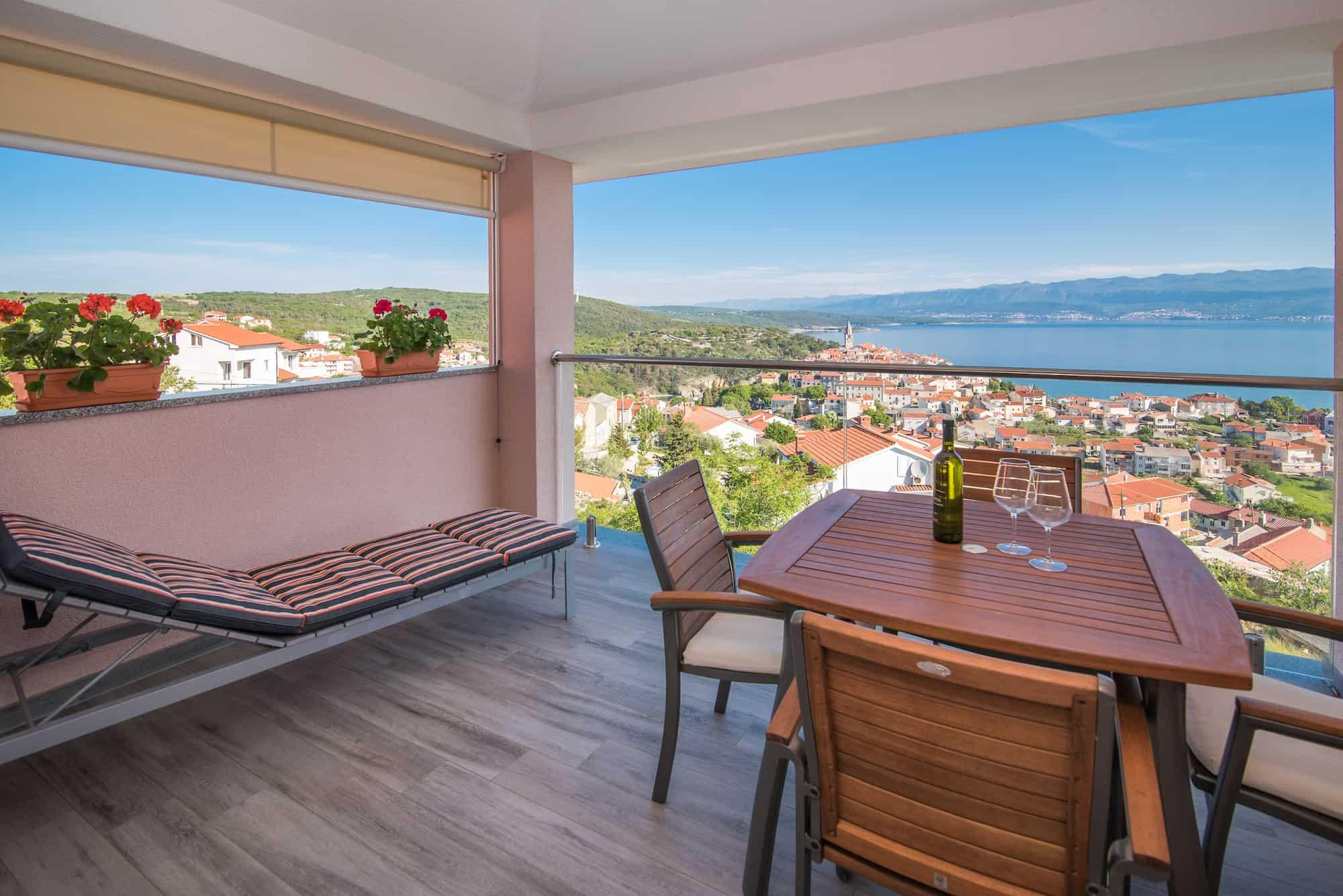 Moderne Wohnung mit schone Meerblick