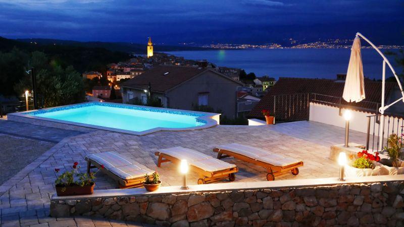 Wohnung mit  privater Pool und schone Meerblick